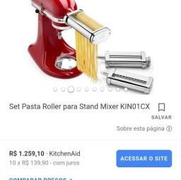kit de modeladores de massa para Stand Mixer é composto por 3 peças.