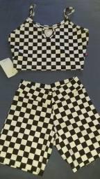 Conjuntos, shorts, camisas e mais
