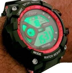Relógio Digital Masculino/Feminino Aprova D Agua Barato DHP