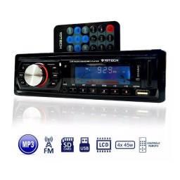 Som Automotivo Rádio + Usb Sem Bluetooth
