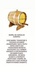 Promoção Barris e Dornas A partir de de 135 reais.