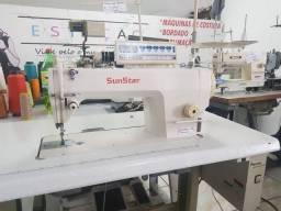 Máquina de costura reta industrial eletrônica Sun Star