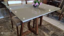 Título do anúncio: Mesa DF de 4 lugares pintura laka e madeira maciça