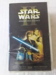 Filme Star Wars - Ataque dos Clones II Dublado fita Cassete VHS