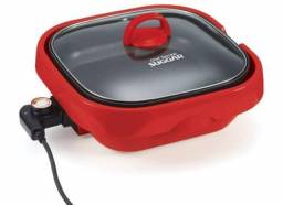 Panela Cheff Speciali Vermelha 110V