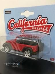 Miniatura Jeep Wrangler Rubicon - California Minis 1/60 - 64