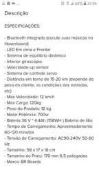 Título do anúncio: Hoverboard 6.5 preto