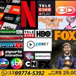 TV mas Filmes e Séries