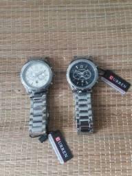Relógio masculino original 2 cores Curren