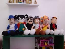 Conjunto boneco Chaves