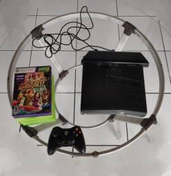 Xbox 360 com Kinect e 12 jogos