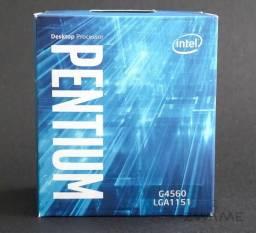 Processador Pentium G4560 1151 3.50GHz Novo lacrado