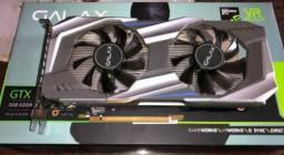 Placa De Vídeo Geforce Gtx 1060 3gb Galax Garantia Até 2020