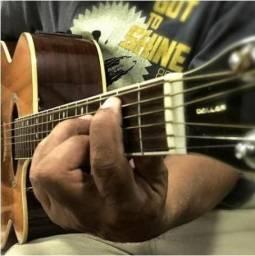 Aula de violão e Guitarra Online ou em domicílio