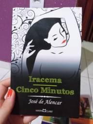 Livro duplo Iracema/Cinco Minutos - José de Alencar