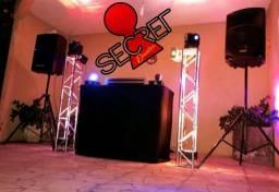 DJ, Som e Iluminação p/ Eventos ou Locação