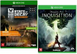 2 Jogos Xbox One: Dragon Age Inquisition E State Of Decay
