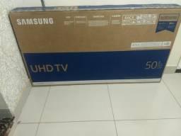 Smart Tv 50 samsung 4k ultra HD zera com nota fiscal não faço menos