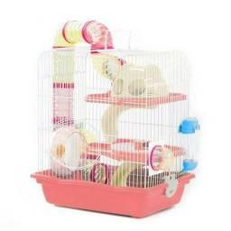 Gaiola Para Hamster 3 Andares Safari