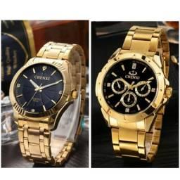 Relógio masculino chenxi preço promocional só até domingo