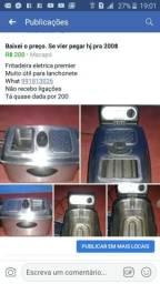 Fritadeira eletrica premier