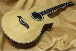 250$,violão condor de aço, encordoamento novo