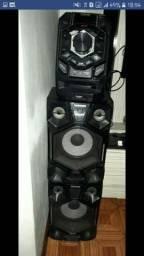 Míni System Samsung 800w giga sound blast, 9 meses de uso, sem marcas
