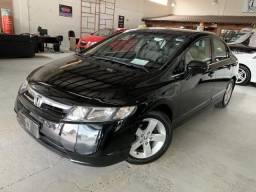 Honda Civic Sedan LXS 1.8/1.8 Flex 16V Aut. 4p - Preto - 2008 - 2008