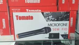 Microfone sem fio profissional tomate 2203