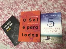Três livros maravilhosos!