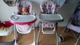 Cadeiras alimentação Seminovas
