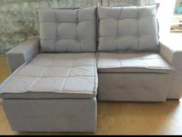 Título do anúncio: Sofa c/pilow 200m -pois as suas misericórdias são inesgotáveis. Renovam-se cada manhã;