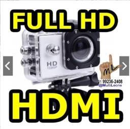 Camera Sports Hd Dv 1080p Filmadora Portátil À Prova D'agua Full Hd Dv 30m