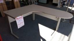 Mesa Para Escritório Em L 1,60x1,40 Usada Em Ótimo Estado