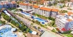 Apartamento no Wellness Beach Park Resort com 2 dormitórios à venda, 68 m² por R$ 419.000