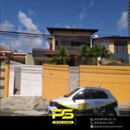 Casa com 4 dormitórios para alugar, 460 m² por R$ 3.000/mês - Pedro Gondim - João Pessoa/P