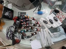 Máquina de tatuagem e produtos