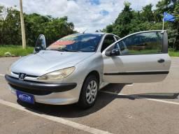Peugeot 206 2007/08 1.4 com ar condicionado entrada a partir de 990 reais - 2008
