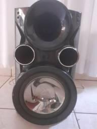 Módulo + caixa de som