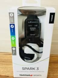 Relógio tom tom spark3 com fone bluetooth novo na embalagem