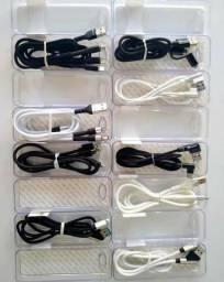 Cabos: TipoC/Iphone e Micro USB///Original// Não trabalhamos com Réplicas!!!