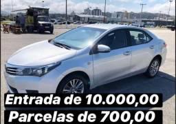 Toyota corolla 2.0 16v xei Flex Multi - Drive s 4p