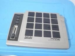 Controladora Akai MPD16 USB/Midi pad control unit