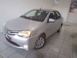 Etios sedan 1.5 xls automático o mais novo do estado