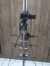 Câmera Canon sx50hs Full HD top