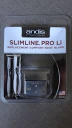 Lâmina p/ Maquina Andis Slimline Pro Li Cordlles Aço Carbono em 12 x sem juros