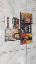 Lote com 140 cds e 30 dvds originais