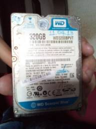 HD Western Digital 320gb