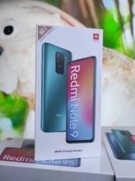 Já é Black da Xiaomi.. Redmi Note 9 128! Novo Lacrado com Garantia e Entrega hj