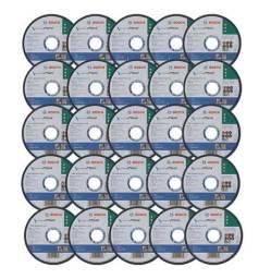 Kit 25 Discos De Corte Metal/inox Std 1151x1,0mm Bosch